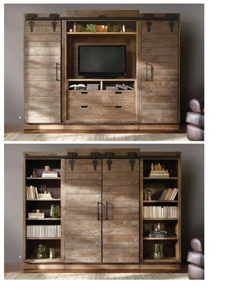 barn door media cabinet favorite alert arhaus beautiful sliding doors
