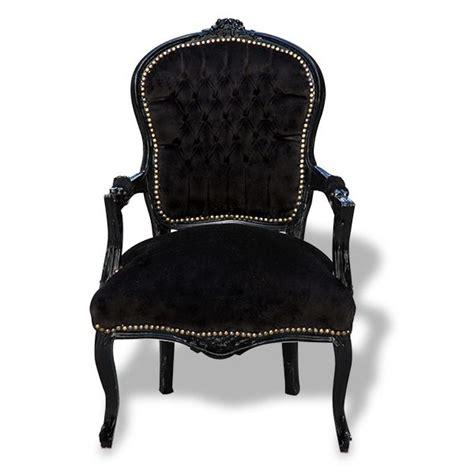 Black Velvet Armchair by Black On Black Velvet Chair