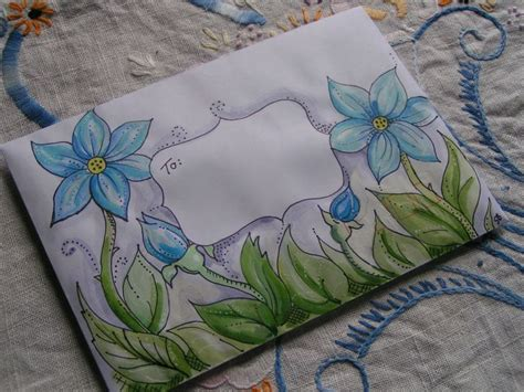 Decoration Enveloppe by 25 Best Ideas About Decorated Envelopes On