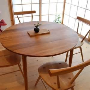 Table Or Desk 丸いダイニングテーブルセット