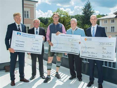 vr bank bayern mitte 25000 drei sponsoren chiemgau