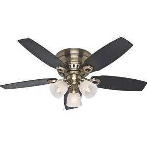 ceiling fans walmart 46 quot hatherton ceiling fan antique brass walmart