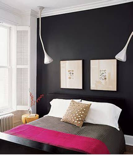 black accent wall in bedroom basic black east coast living