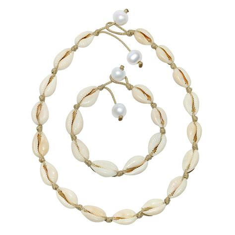 Handmade Shell Jewelry - aobei pearl handmade shell jewelry set with necklace