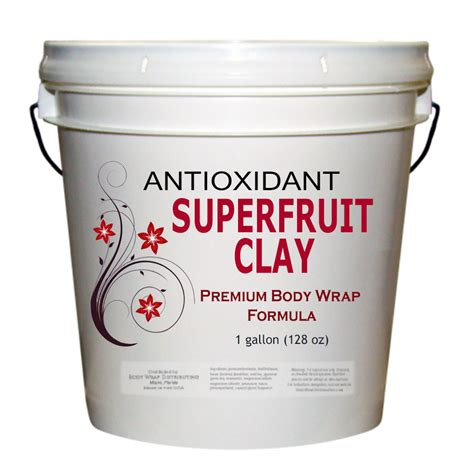 Detox Wrap Products by Superfruit Clay Wrap Formula Wrap Distributing