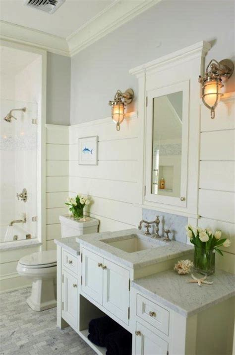 tongue and groove for bathroom walls cottage bathroom cottage bathroom jillian klaff homes