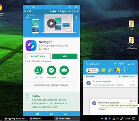 samsung sidesync apk il browser samsung 5 disponibile anche per i galaxy s6