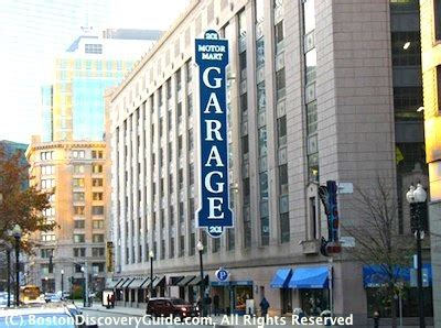 Boston Common Parking Garage Coupon by Boston Parking Garages Near Theatre District Shows