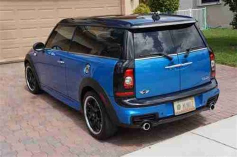 auto air conditioning repair 2010 mini clubman interior lighting find used 2010 mini cooper s clubman warranty auto loaded garaged immaculate condition in
