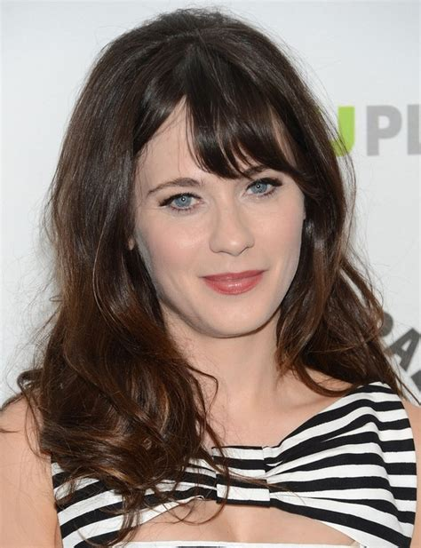 Zooey Deschanel Hairstyle by 27 Zooey Deschanel Hairstyles Pictures Of Zooey S