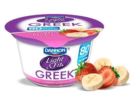 dannon light and fit yogurt nutrition dannon light and fit strawberry banana yogurt nutrition