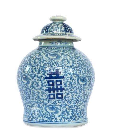 what is a ginger jar blue and white double happiness ginger jar the pink pagoda