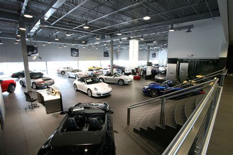 porsche showroom largest porsche dealership in na now open autoevolution