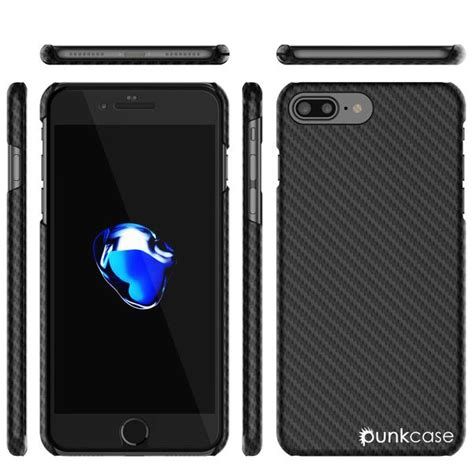 Tunedesign Pyshell Carbon For Iphone 66s Plus iphone 8 plus punkcase carbonshield heavy duty ultra thin 2 carbon fiber cover