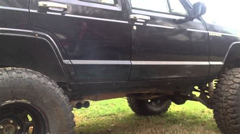 1988 jeep flowmaster exhaust