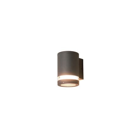 Outside Light by Elstead Lighting Azure Low Energy 3 Grey Outdoor Wall