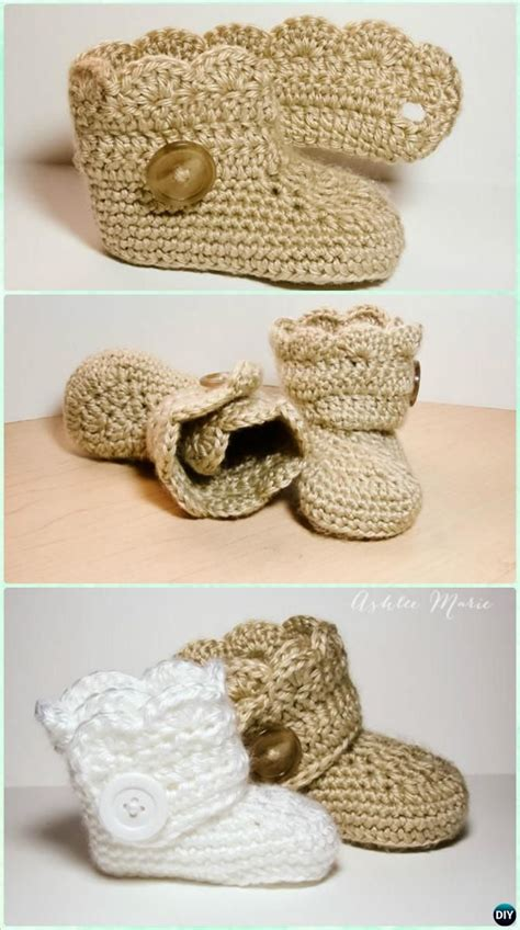 free button boats pattern crochet wrap button boots free pattern crochet ankle high