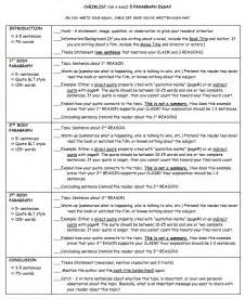 5 Paragraph Essay Exle by Arvonderlohe How To Write A 5 Paragraph Essay