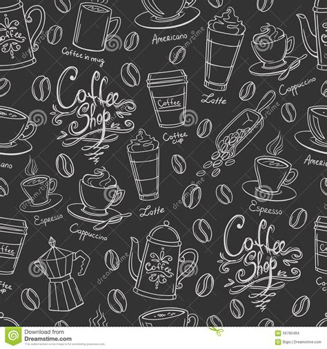html pattern exclude coffee seamless pattern cartoon vector cartoondealer