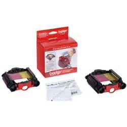 Ribbon Evolis Badgy 200 100 Black 500 Sisi Pn Cbgr0500k Badgy200 badgy ribbons willow print technologies
