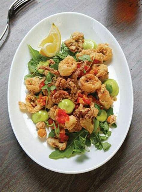 Fried Calamari Salad | fried calamari salad calamari squid octopus pinterest