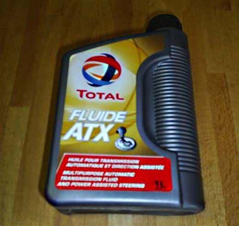 Oli Atf Mv Total Dexron 3 cit4058 fluide atx dexron 2 automatic transmission pas 1 litre