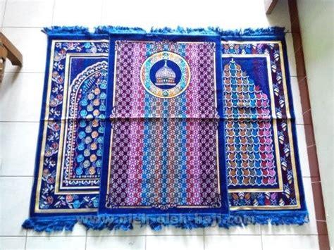 Sajadah Turki Hemat Tipis O267 sajadah turki kano besar oleh oleh haji