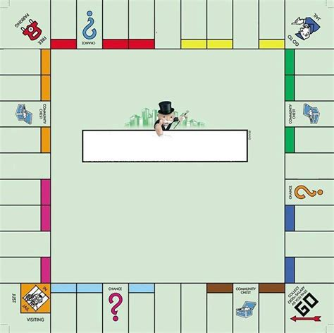monopoly template monopoly money printable template search