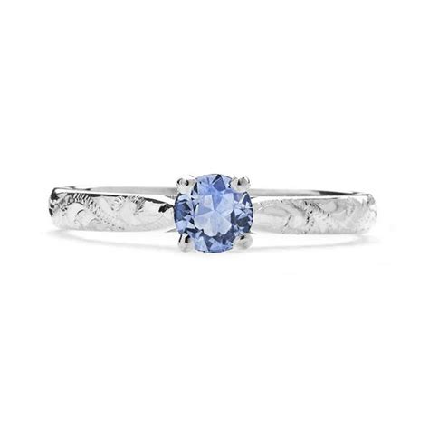 light blue engagement rings athena ethical light blue sapphire gemstone engagement