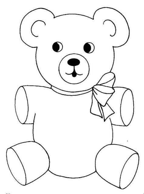 cute bear coloring pages cute teddy bear coloring page kids coloring page gallery
