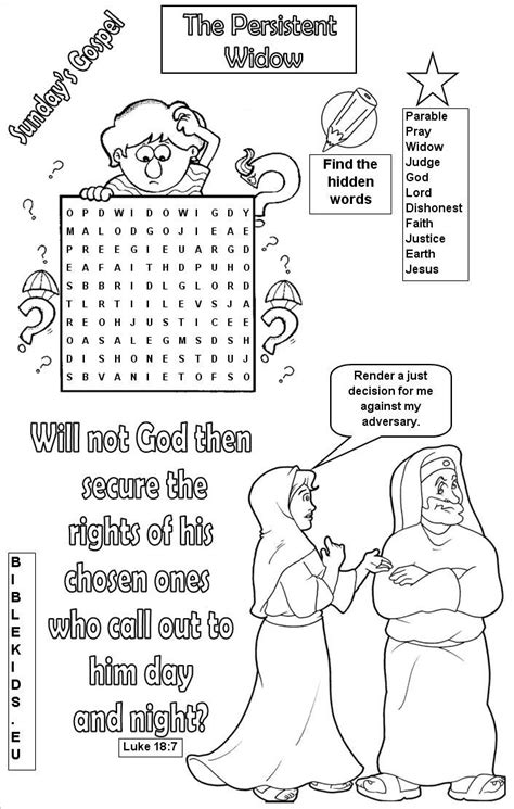 luxury pharisee and tax collector coloring page artsybarksy