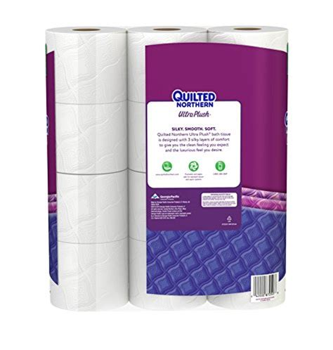 northern bathroom tissue quilted northern ultra plush bath tissue 12 count food service industry supply