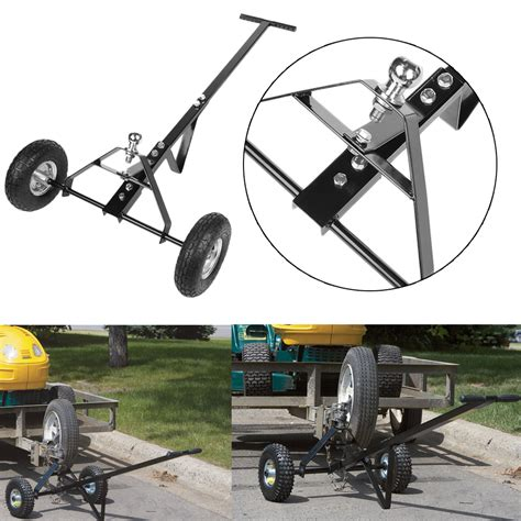small boat trailer ball size 600lb trailer dolly boat cargo utility tow hitch ball
