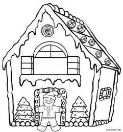gingerbread house coloring pages printable gingerbread house coloring pages for