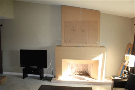 do it yourself fireplace remodel diy fireplace