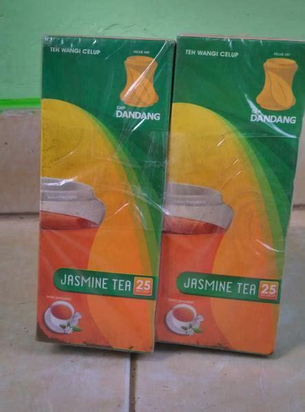 Teh Dandang jual teh celup cap dandang jasnine box isi 25 tea bag