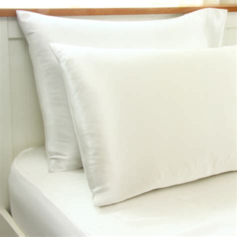 Pillowcase Pillow by Fitted Silk Sheet And Pillowcase Set The Sleep