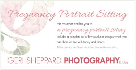 wedding present voucher ideas photography gift vouchers geri sheppard photography