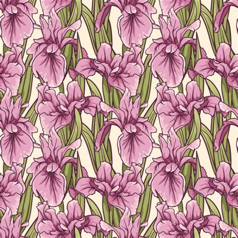 hand drawn flower pattern hand drawn flower pattern art vector 02 vector flower