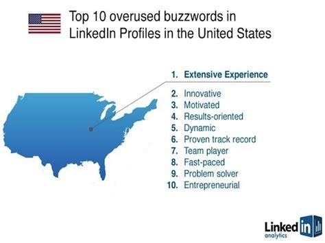 Overused Resume Buzzwords linkedin lists overused resume buzzwords vatornews