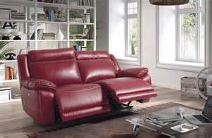 canap relax lectrique en cuir 2 places