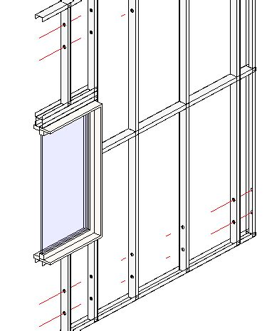 Building Kitchen Island by Framing Revit 174 Walls With Steel Studs Amp Plates Metal