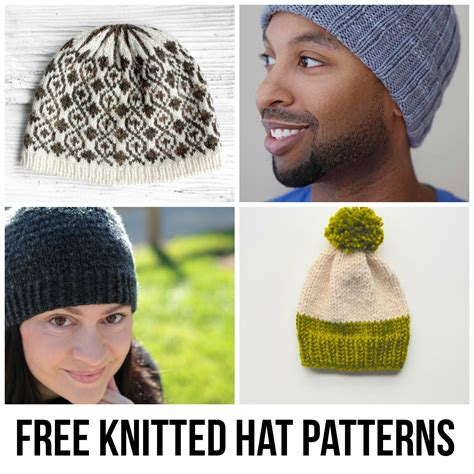 knitted hat patterns free knitting a scarf 7 genius tips
