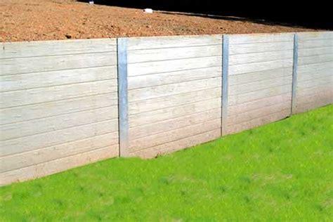 Sleeper Retaining Wall Systems concrib concrete sleeper retaining wall system