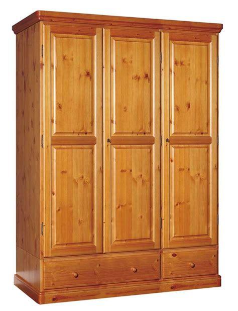 armadio in pino armadio rustico in pino massello di svezia con cassetti