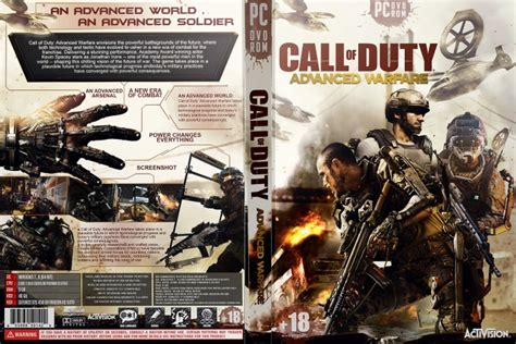 Kaset Bd Ps4 Call Of Duty Advance Warfare call of duty advanced warfare pc box cover by