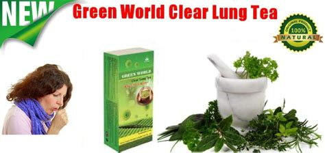 Green Tea For Lung Detox by Green World Clear Lung Tea Green World Nigeria Herbal