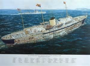 Home Interior Websites the royal yacht britannia cut away drawing of 1954 by g