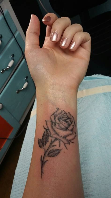 the girl with the rose tattoo wrist tattoos designs ideas and meaning tattoos