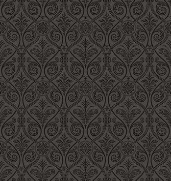 damask pattern cdr black damask background free vector download 49 142 free